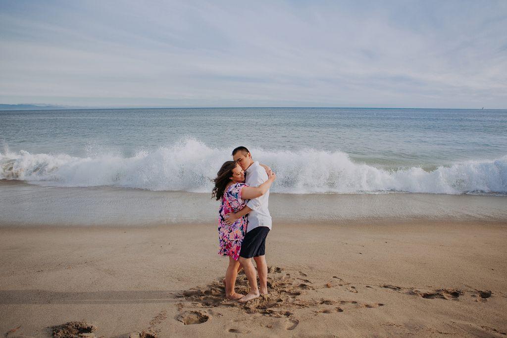 Save the Date Beach Mini Session