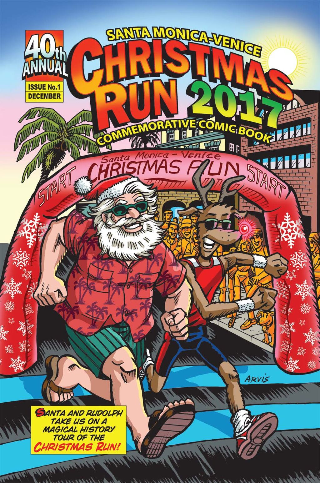 Santa Monica Venice Christmas Run