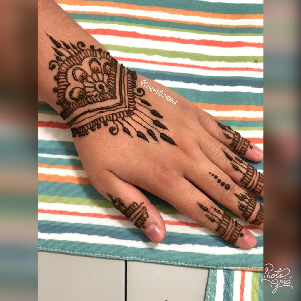 Guest Henna Non-Bridal