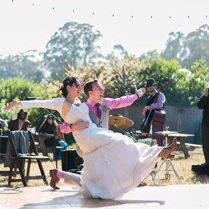 wedding in California on a farm
