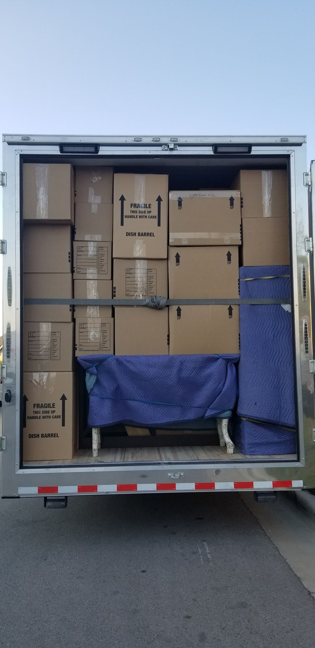Fully Loaded Long Haul Same Day Service