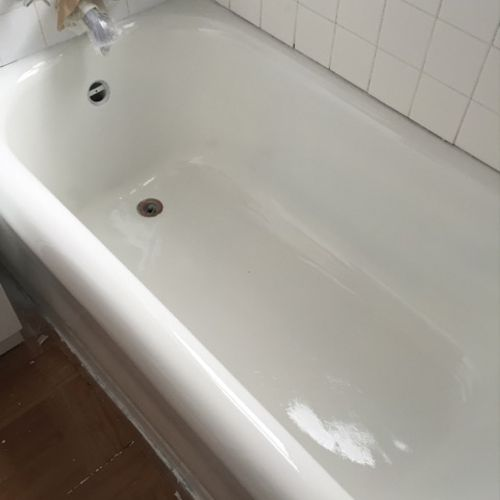 Cast Iron Tub - After