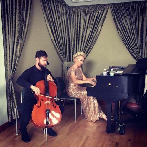 Piano and Cello Minimalist Music improvisation