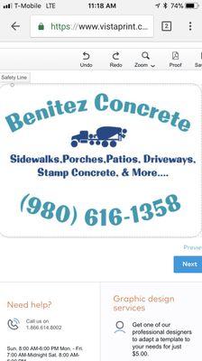 Avatar for Benitez Concrete