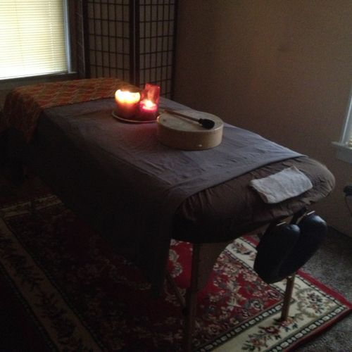 Vibrational Drum Therapy