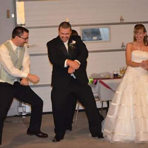 """My first official """"gig"""".  With Dave & Lori Weddle on Oct. 5th, 2013."""