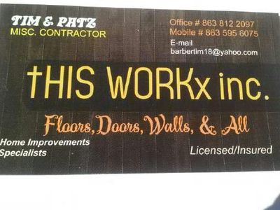 Avatar for This Workx Inc. Winter Haven, FL Thumbtack