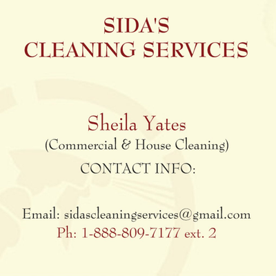 Avatar for Sida's Cleaning Services
