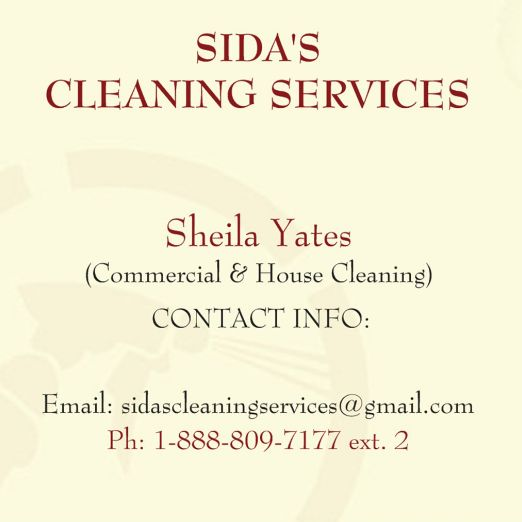Sida's Cleaning Services