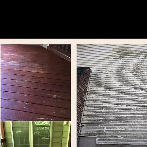 Tab's window, gutter and power washing