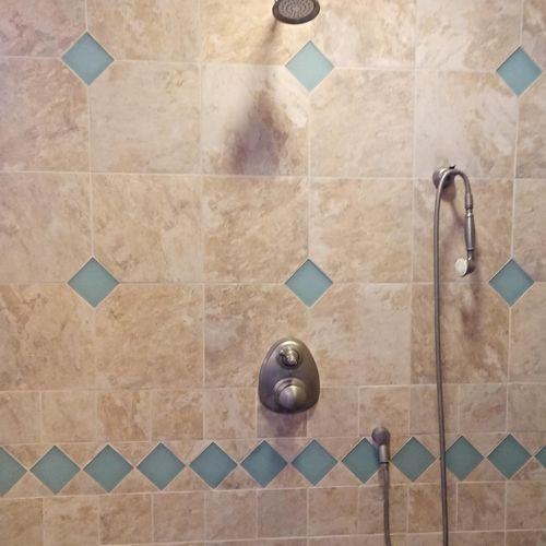 Tile Shower Restoration