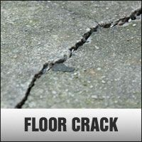 Call us for cracks in your floor and walls.