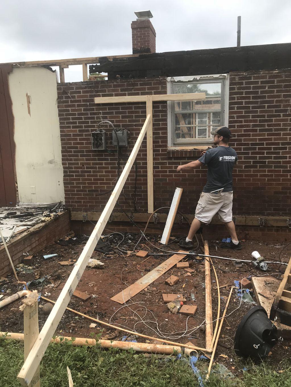 Rebuild Burnt home