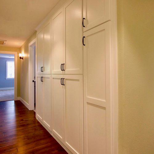 Hall Linen Closets