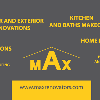 Avatar for Maxrenovators - Exterior Home Remodelers Livingston, NJ Thumbtack