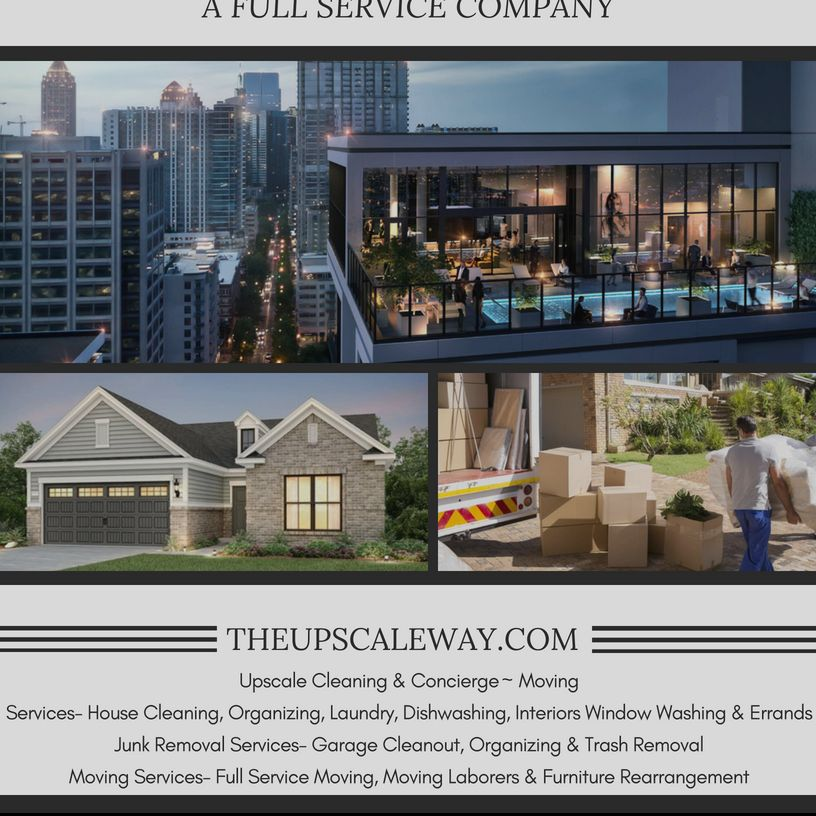 Upscale Cleaning & Concierge~Moving
