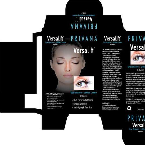 Packaging design for make up product line.