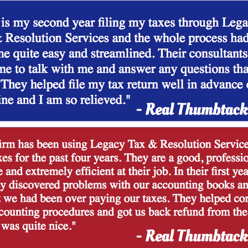 Real Thumbtack Reviews!