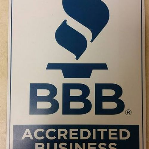 Better Business Accredited A+ Rating