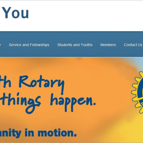 Rotary For You - website to promote Rotary Membership