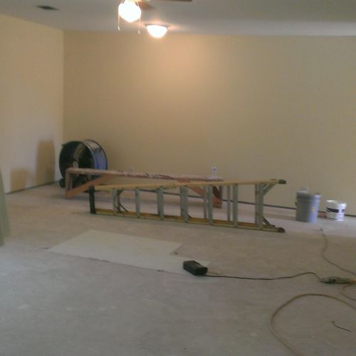 A new residential construction project we completed in Magnolia.