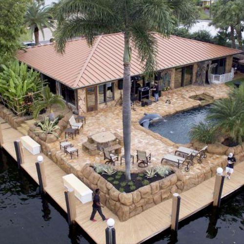 Beautiful Landscape Pool