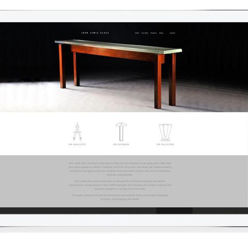 Web Design : : John Lewis Glass