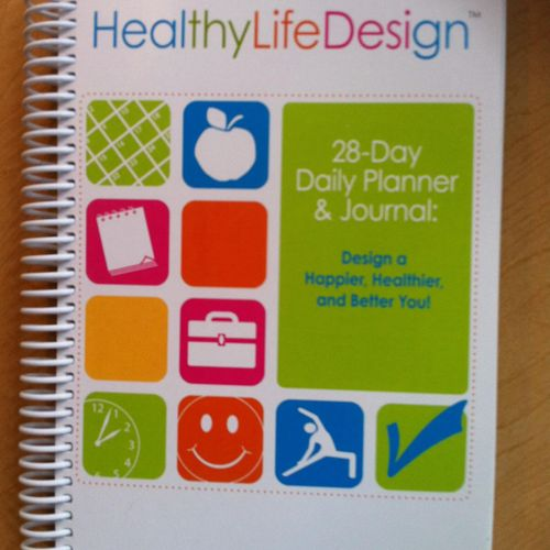 Author of the HealthyLifeDesign - A Happiness Planner and Journal which uses positive psychology to increase happiness, self-esteem and goal achievement.