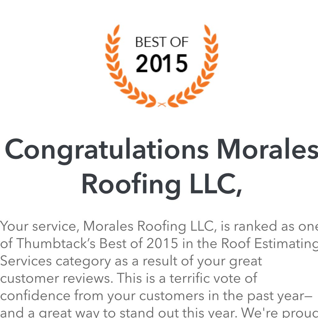 Morales Roofing Llc Indianapolis In