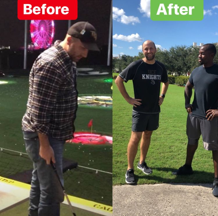 Rob's 3 months progress