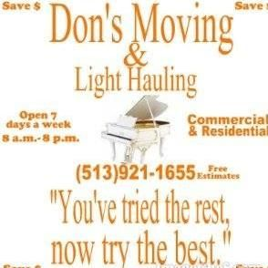 A+Dons Moving&light hauling