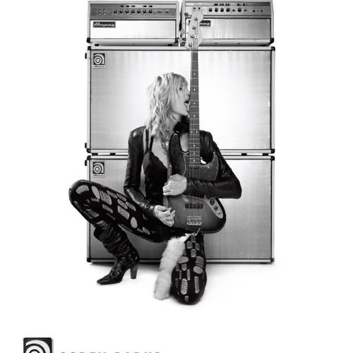 Print ad for Ampeg