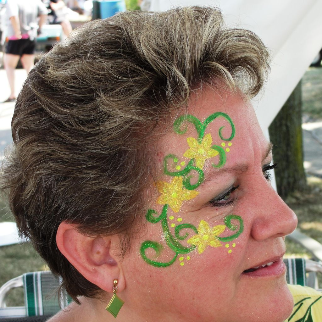 Face Painting By Sheila