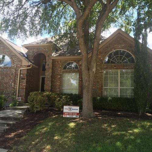 House we recently completed in Plano.