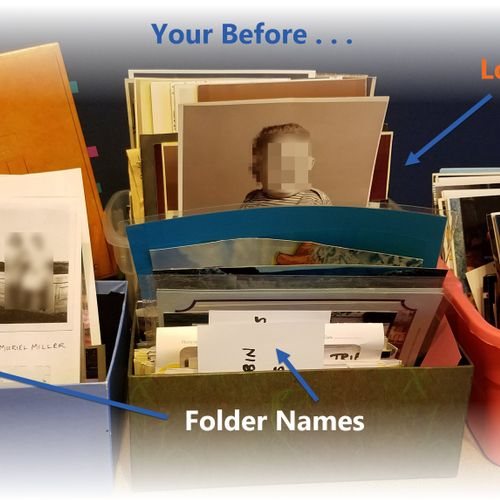 Your photo collection before I preserve it for you.