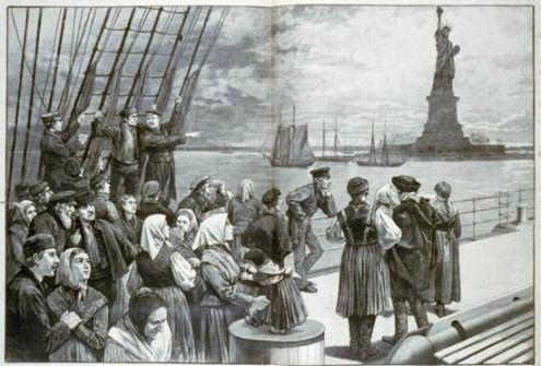 Immigrant Arriving