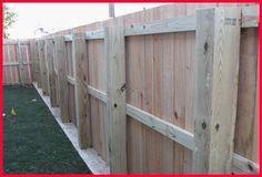 FENCING - 6' Cedar Post & Rail Privacy Fence