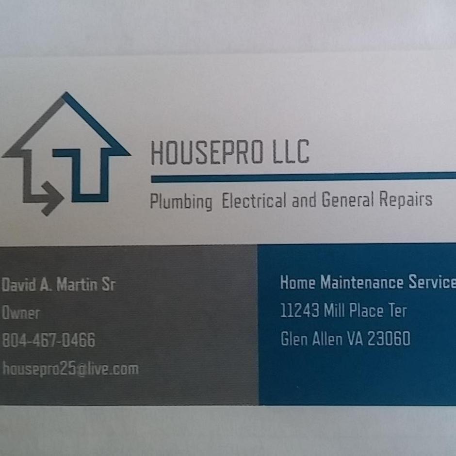 Housepro LLC Home Maintenance Service