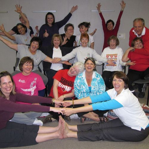 Yoga for Cancer Class, Denton Texas