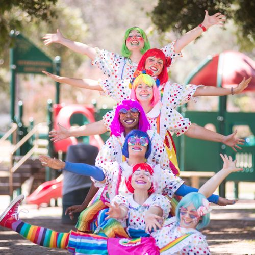 Daizy Clown Totem Pole!