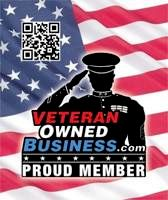Proud to be recognized as a Veteran Owned Business.