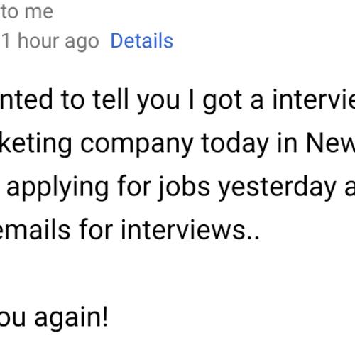 Land an Interview