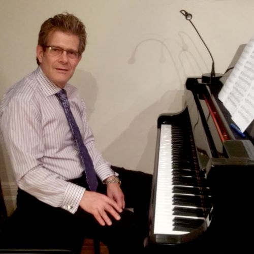 Allan is a beginner piano student