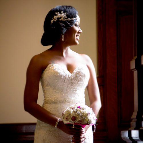 Bridal sample