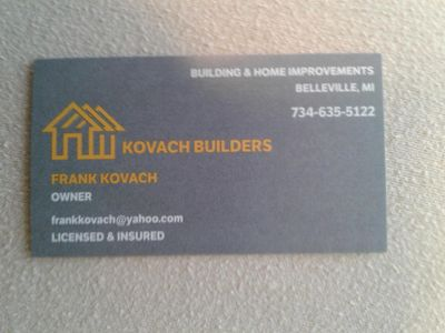 Avatar for Kovach Builders Belleville, MI Thumbtack