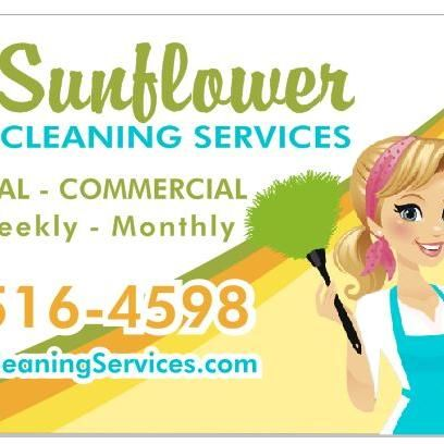Sunflowers cleaning service