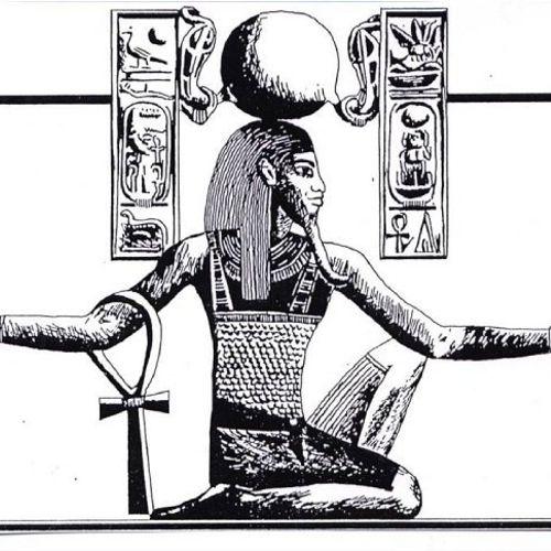 Pose of Immortality in Kemetic Yoga