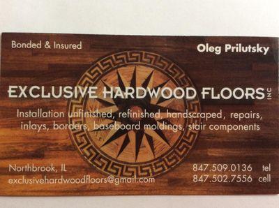 Avatar for Exclusive Hardwood Floors, Inc. Northbrook, IL Thumbtack