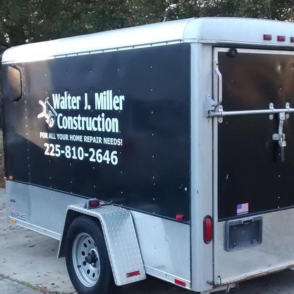 Walter J Miller Construction