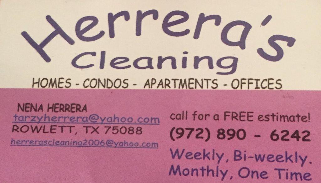 Herrera's Cleaning Service